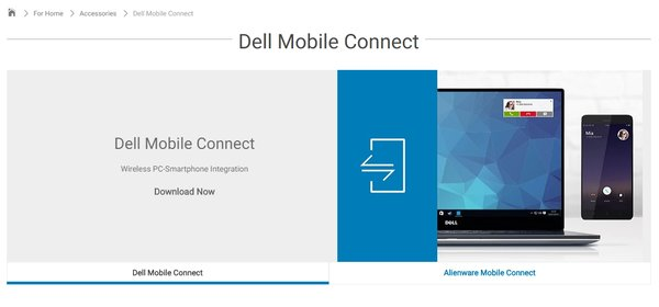 Dell Mobile Connect: Android-Smartphone und iPhone vom PC