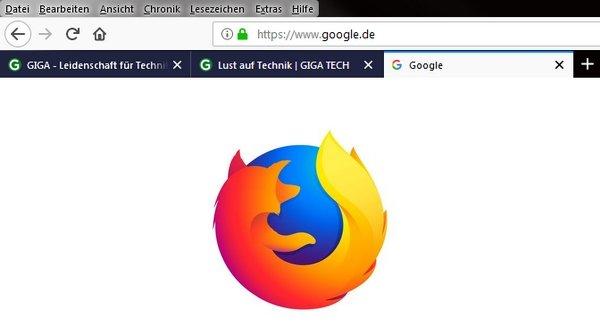 Firefox 65 Tabs Unten