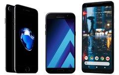 Smartphone Nacht bei Saturn mit Galaxy A5, iPhone 7 & Pixel 2: Diese Geräte sind wirklich günstig