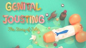 Genital Jousting im Test: Das Leben und Leiden des jungen Penis
