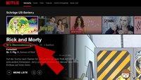 Netflix Übereinstimmung: Bewertungs- und Empfehlungssystem erklärt