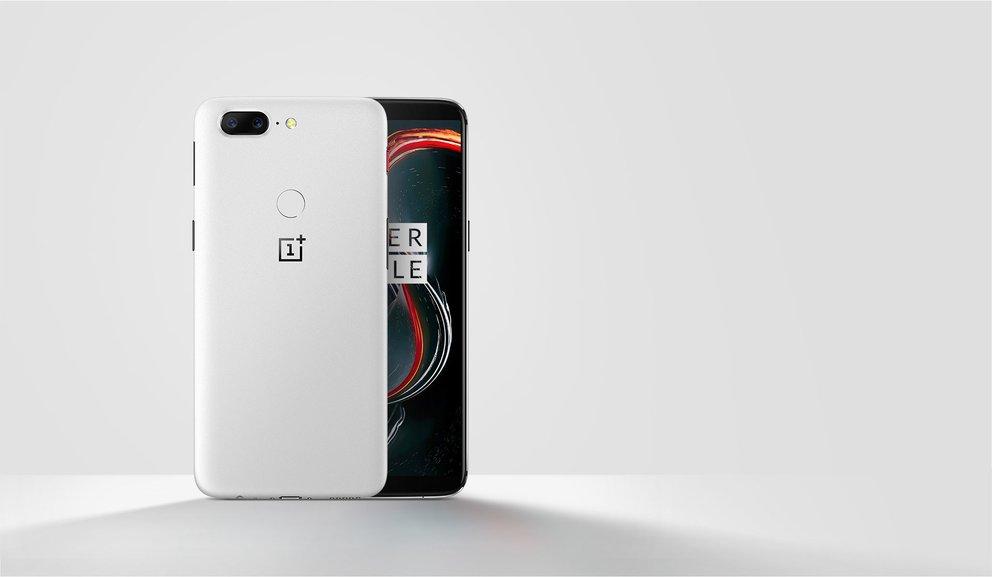 OnePlus 5T in Sandstone White: Dieses Sondermodell ist ein Traum