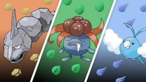 Welchen Typ erhalten diese Pokémon nach ihrer Entwicklung?