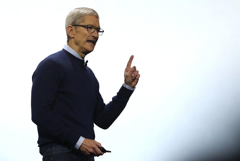 """""""Das erlaube ich nicht"""": Apple-Chef stänkert gegen Facebook"""