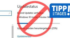 Windows 10: Updates deaktivieren, pausieren & aussetzen – so geht's