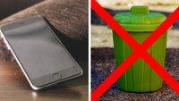 Schmeißt euer altes Smartphone nicht weg! Das könnt ihr noch damit machen