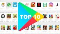 Die aktuell 10 beliebtesten Android-Apps in Deutschland