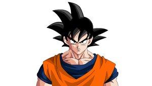 Dragon Ball: Riesiges Son-Goku-Banner bei Fußballspiel