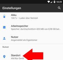 GPS deaktivieren und aktivieren (Android)