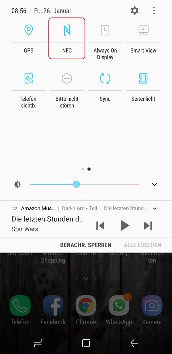 """N""""-Symbol in der Statusleiste bei Android-Geräten: Was ist das?"""