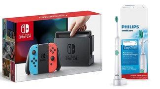 Angebote bei Amazon: Nintendo Switch für 289 Euro, Philips-Produkte, Canon-Cashback-Aktion