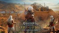 """Assassin's Creed - Origins: Erster DLC """"Die Verborgenen"""" kommt am 23. Januar"""