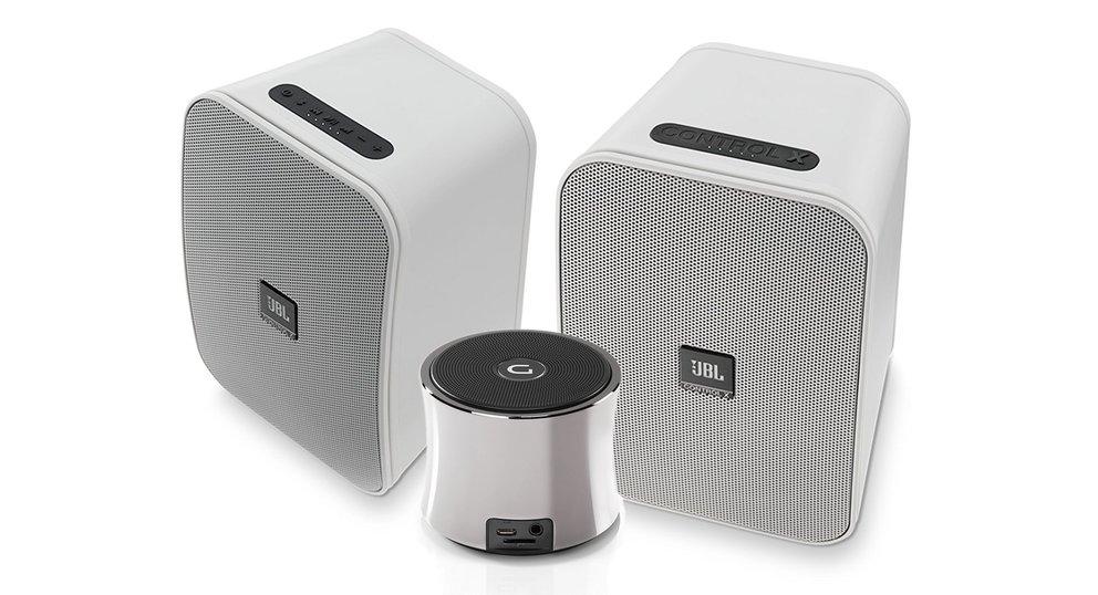 Amazon Angebote: JBL Allwetter-Bluetooth-Lautsprecher über 400 Euro günstiger, Dockin Audioartikel, 4K-Display