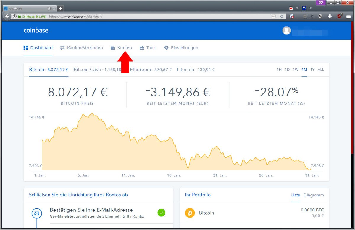 profitto bitcoin geld auszahlen)
