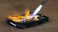 Festplatte zerstören und sicher entsorgen – so geht's