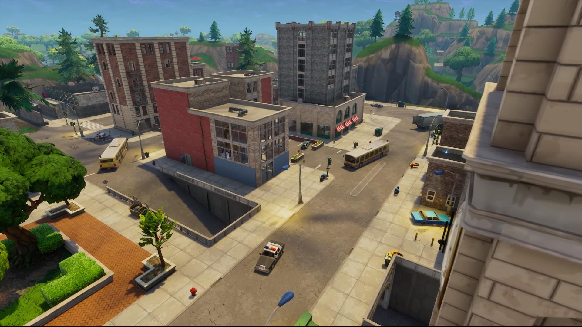 Battle Map City Streets