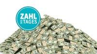 Berge aus Geld: So reich sind Apple, Google und Co.  – Zahl des Tages