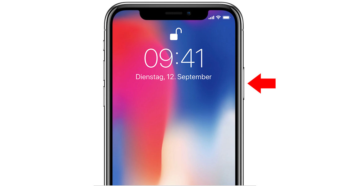 how to open siri in iphone x