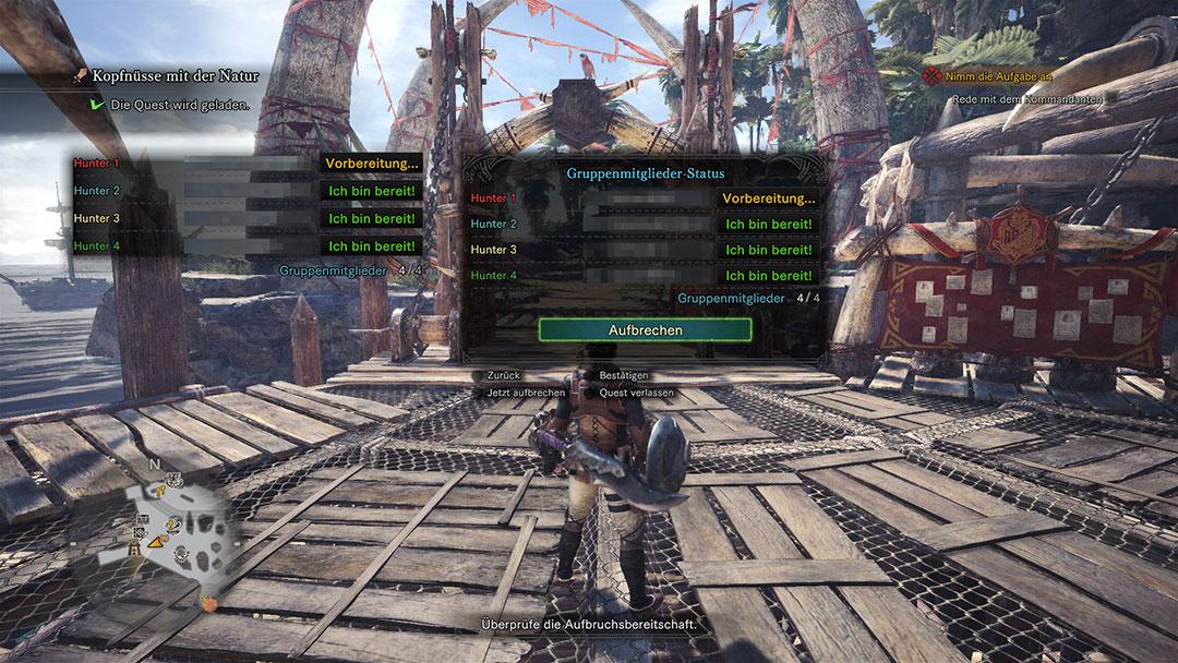 Monster Hunter World Multiplayer Und Coop So Könnt Ihr Online Mit - Minecraft offline zu zweit spielen pc