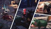 Monster Hunter World: Poogie - Beziehung verbessern und Kostüme freischalten