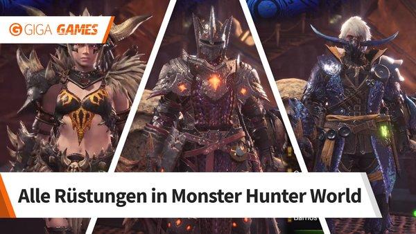 Monster Hunter World Alle Rüstungen Bilder Werte Und Herstellung