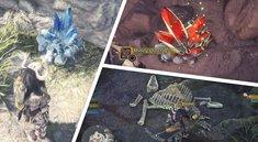 Monster Hunter World: Ressourcen-Fundorte auf der Karte - alle Erze, Knochen, Pflanzen und mehr