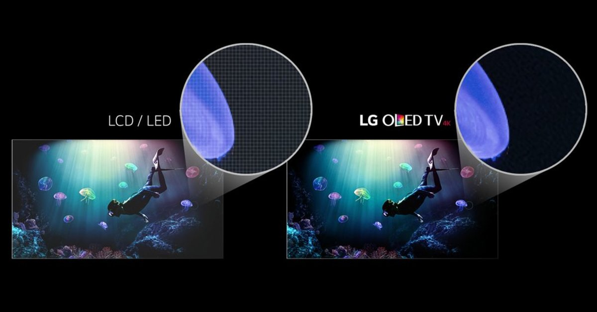 oled vs led vergleich der tv technologien was ist besser. Black Bedroom Furniture Sets. Home Design Ideas