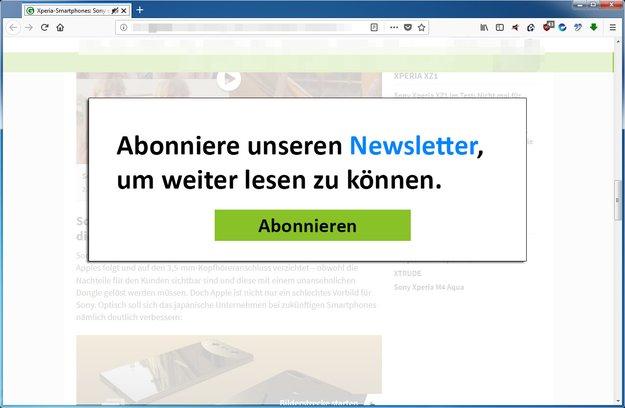 Was ist ein Pop-Up? (Browser, Internet)