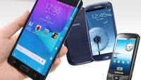 Samsung Galaxy: 9 Smartphones, die ein...