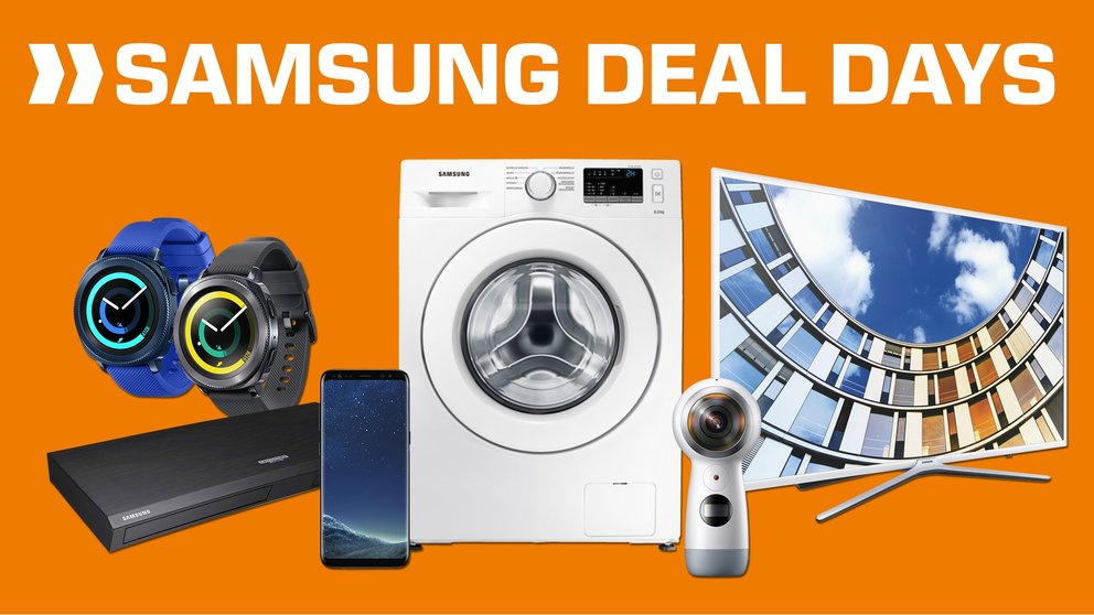 Samsung Deal Day: Galaxy S8 (Plus), Note 8, Gear Sport, Icon X & mehr stark reduziert