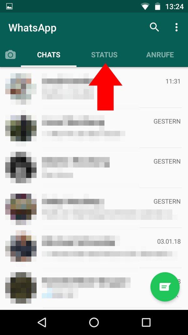 Whatsapp Status Bilder Einfügen Schritt Für Schritt
