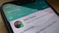 WhatsApp: Status-Bilder einfügen, bearbeiten und löschen – wer sieht's?