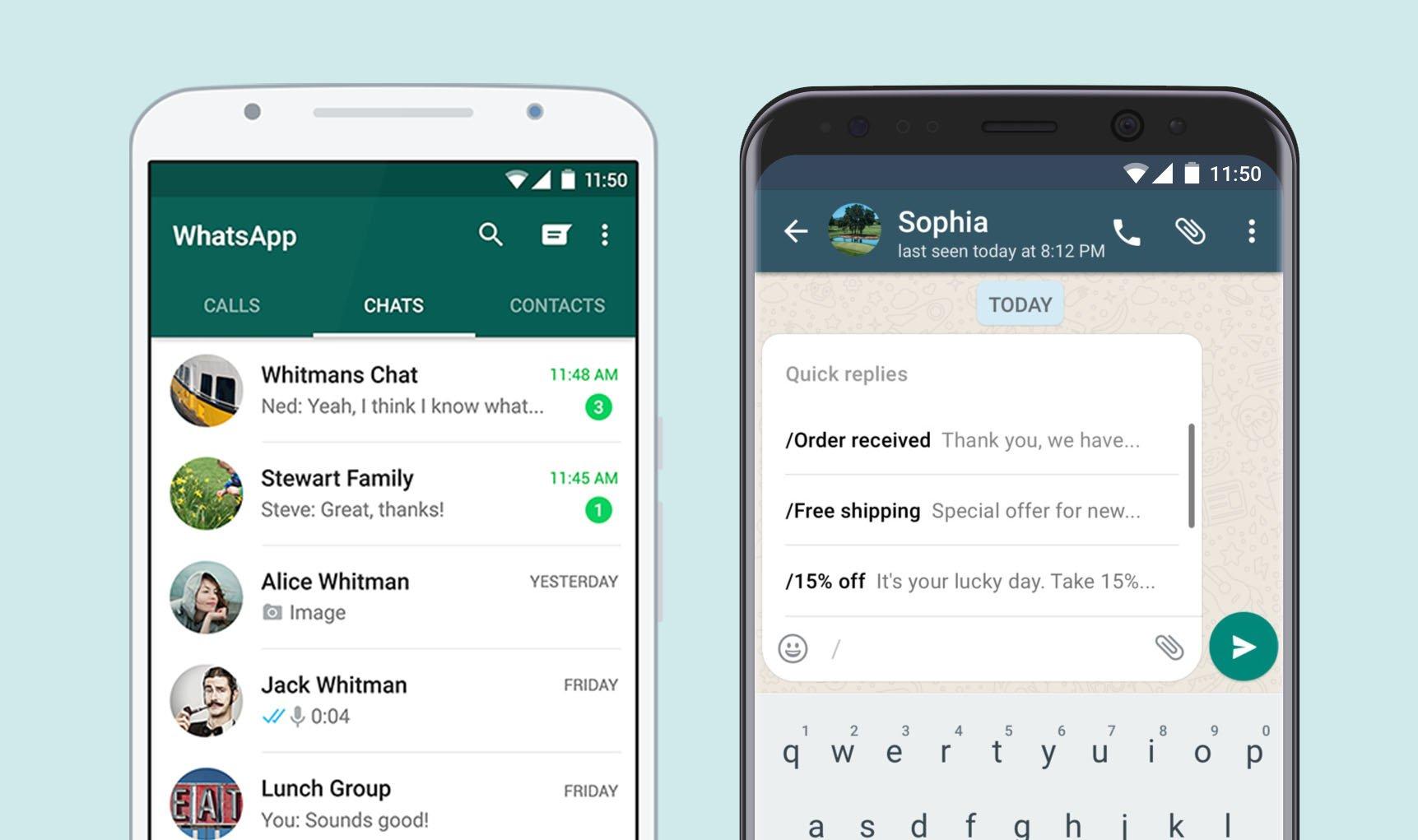 Unterschied Zwischen Whatsapp Whatsapp Business Messenger