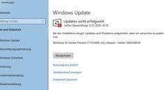 Lösung: Fehler 0x80244018 bei Windows-Update