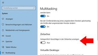 Windows 10: Werbung in Zeitachse entfernen – so geht's