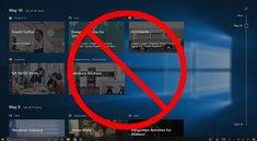 Windows 10: Zeitachse deaktivieren – so geht's