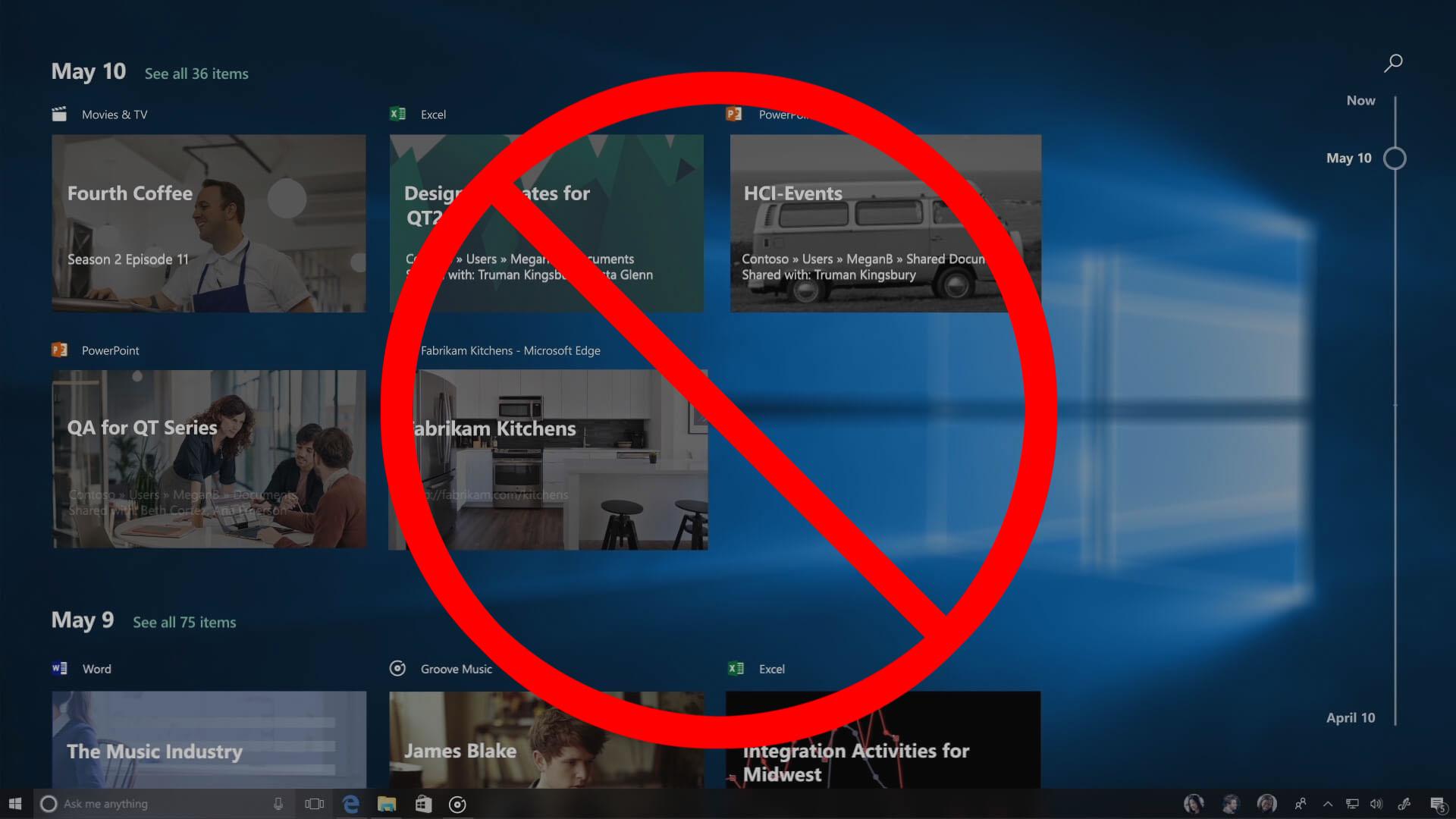 Windows 10: Zeitachse deaktivieren – so geht\'s – GIGA