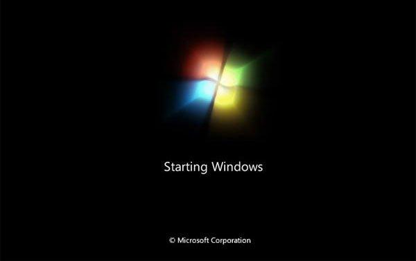 Das Betriebssystem startet auf dem PC