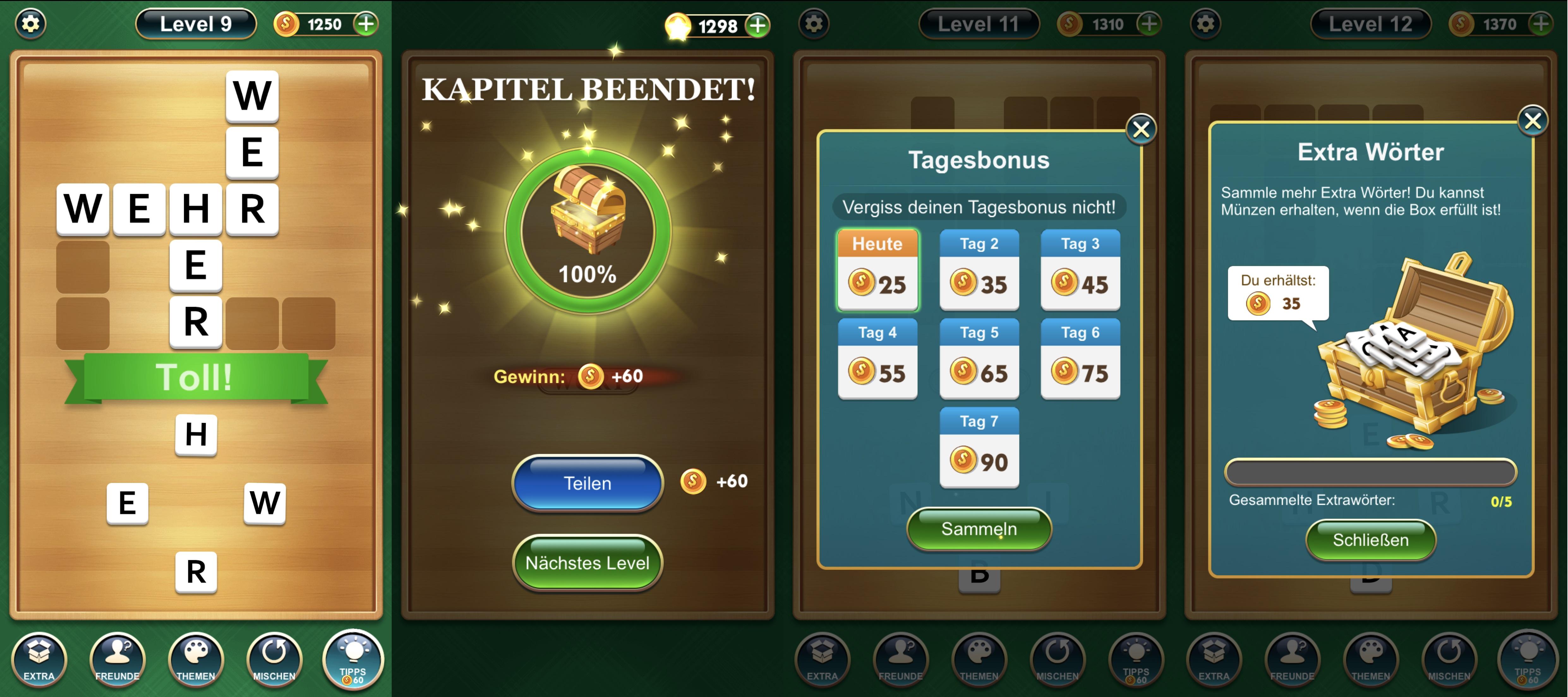 4bilder1wort Lösungen App