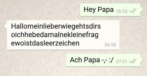 Whatsapp chats lustig