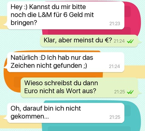 Chats lustige whatsapp Totlachen Lustige