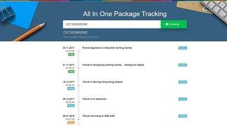 GearBest-Tracking: Mit der Sendungsverfolgung Pakete online verfolgen