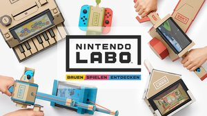 Nintendo Labo: Now you're playing with Pappe!