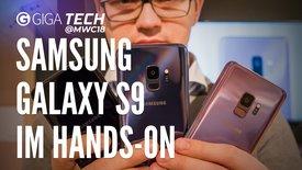 Samsung Galaxy S9: Das erste Hands-On
