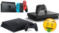 Nintendo Switch, Xbox One X & PS4 Pro zum Knallerpreis durch Aktionen bei mobilcom-debitel & eBay