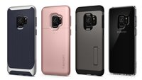 Schutzhüllen für Samsung Galaxy S9 und S9 Plus: Spigens Meisterstücke