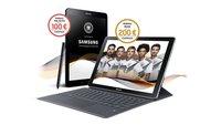 Samsung-Fanprämie zur Fußball-WM: Galaxy-Tablet kaufen und 200 Euro Cashback erhalten