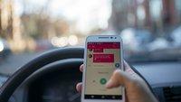 Erschreckend: So viele Autofahrer nutzen ihr Smartphone im Auto