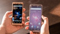 Komplett neues Design: Sony Xperia XZ2 und XZ2 Compact im Hands-On-Video
