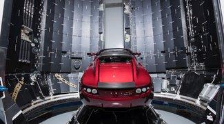 Sensationeller Livestream: Tesla Roadster fliegt im All und wir können zuschauen